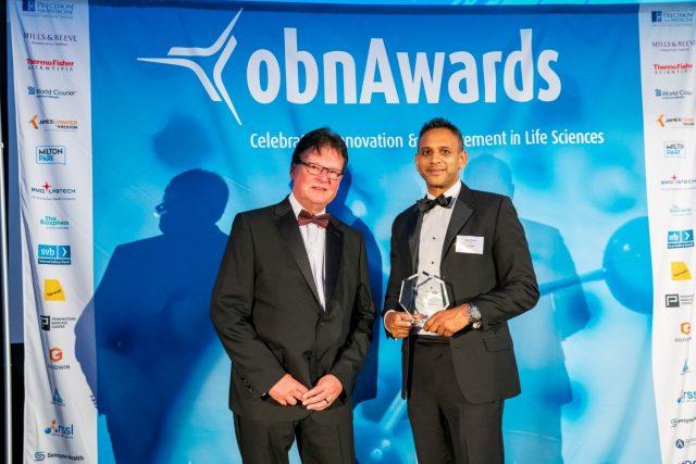 Sunil Shah CEO o2h Discovery OBN Awards 2019